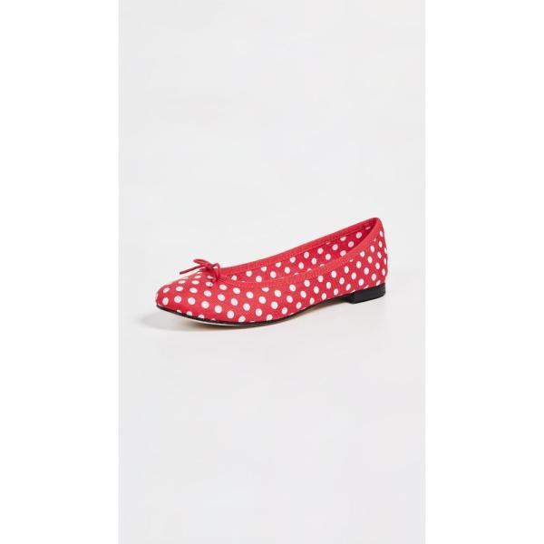 レペット Repetto レディース スリッポン・フラット シューズ・靴 Cendrillon Ballet Flats Red