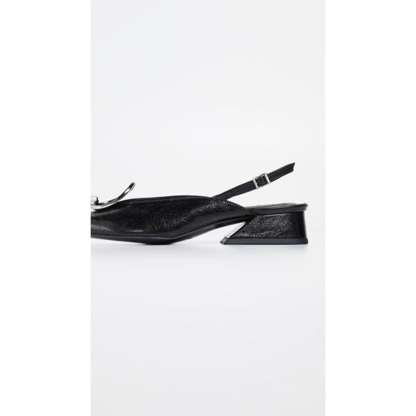 ユルイエ Yuul Yie レディース パンプス シューズ・靴 Zizi Slingback Pumps Black