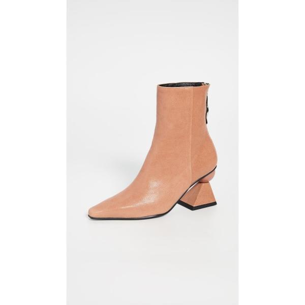 ユルイエ Yuul Yie レディース ブーツ シューズ・靴 Amoeba Glam Heel Boots Apricot