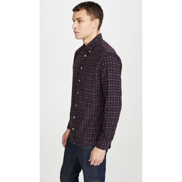 YUNY Men Button-Down-Shirts Tops Corduroy Fall//Winter Dress Shirts Five M