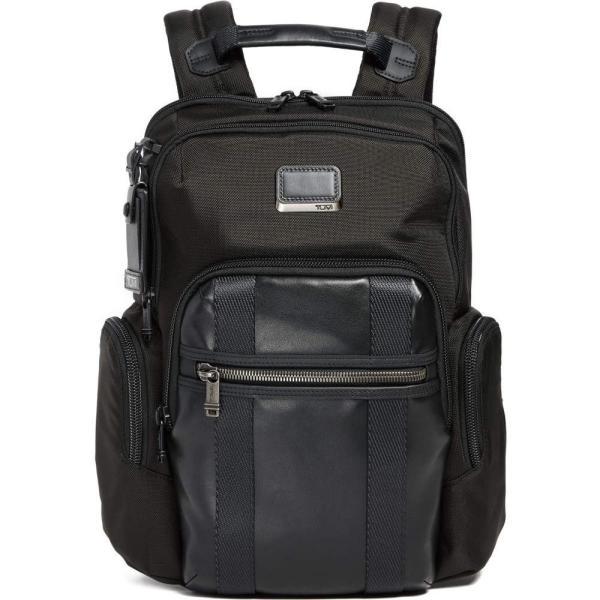 トゥミ メンズ バックパック・リュック バッグ Alpha Bravo Nellis Backpack Black