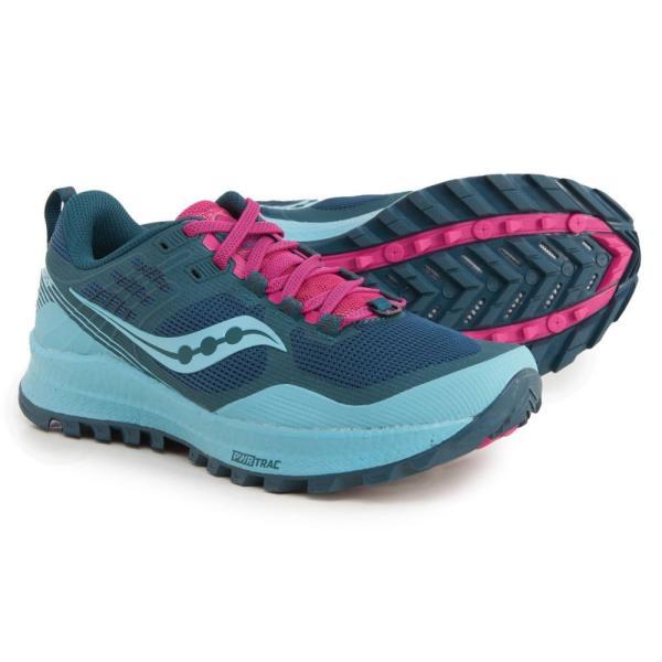 サッカニー Saucony レディース ランニング・ウォーキング シューズ・靴 Xodus 10 Trail Running Shoes Marin/Fuchsia