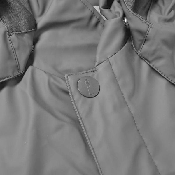 レインズ Rains メンズ コート アウター Mac Coat Black|fermart|03