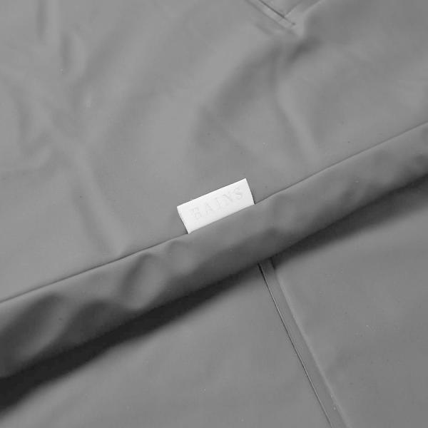 レインズ Rains メンズ コート アウター Mac Coat Black|fermart|04