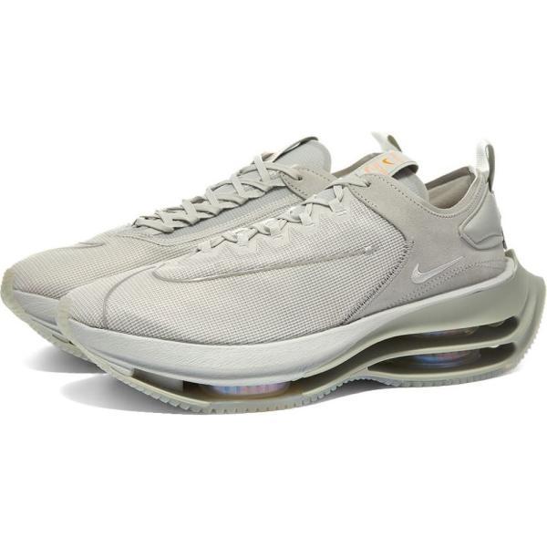 ナイキ Nike レディース スニーカー シューズ・靴 Zoom Double Stacked W Grey Fog/White/Crimson