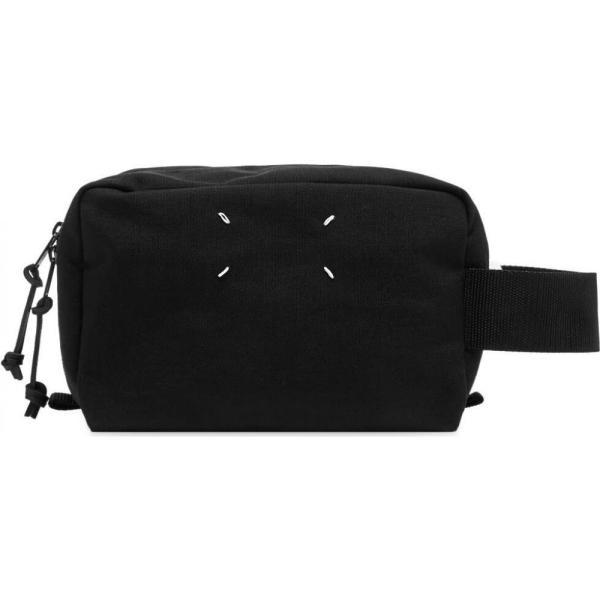 メゾン マルジェラ Maison Margiela メンズ ポーチ トラベルポーチ 11 cordura wash bag Black|fermart|01
