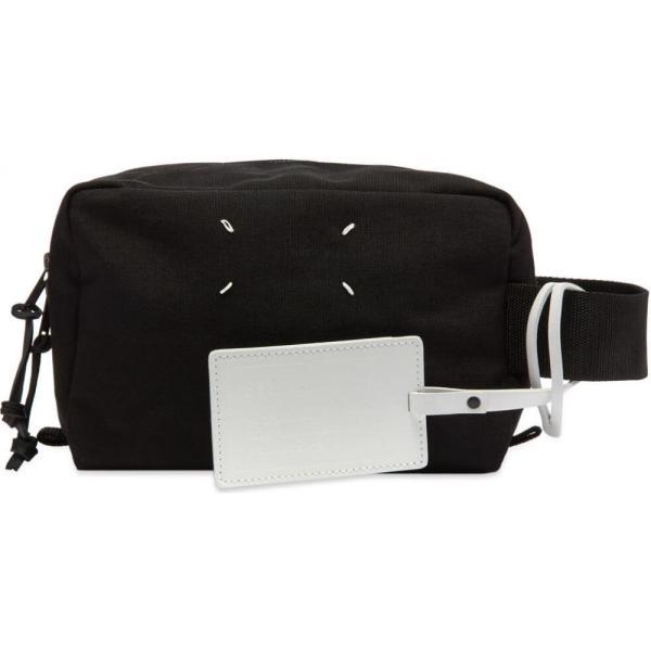 メゾン マルジェラ Maison Margiela メンズ ポーチ トラベルポーチ 11 cordura wash bag Black|fermart|02