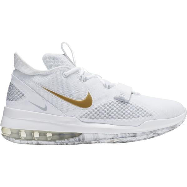 ナイキ Nike メンズ バスケットボール シューズ・靴 air force max low White/Black/Volt fermart