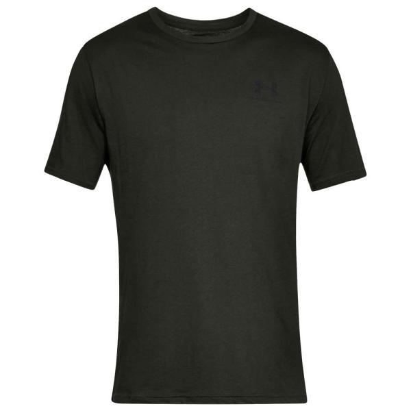 アンダーアーマー Under Armour メンズ Tシャツ トップス Sportstyle Left Chest T-Shirt Artillery Green/Black|fermart