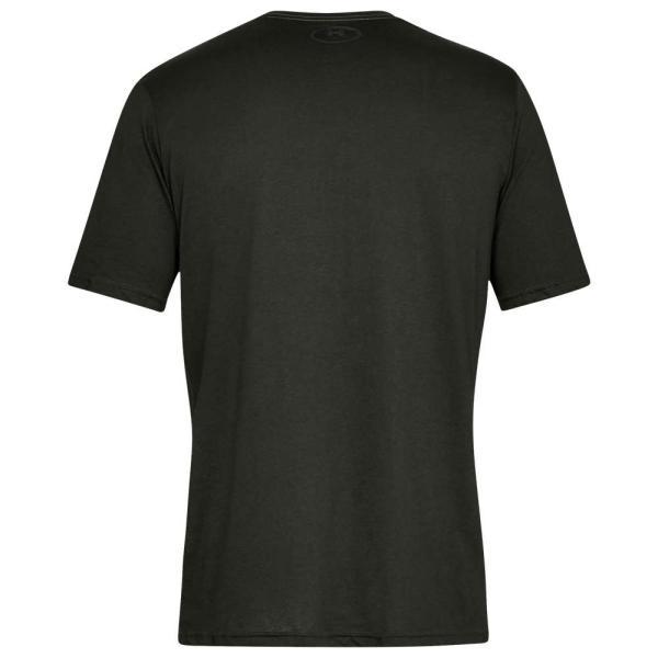 アンダーアーマー Under Armour メンズ Tシャツ トップス Sportstyle Left Chest T-Shirt Artillery Green/Black|fermart|02