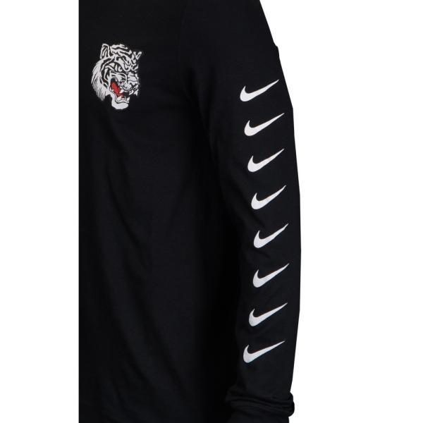 ナイキ Nike メンズ 長袖Tシャツ トップス Graphic Long Sleeve T-Shirt Black/White fermart 02