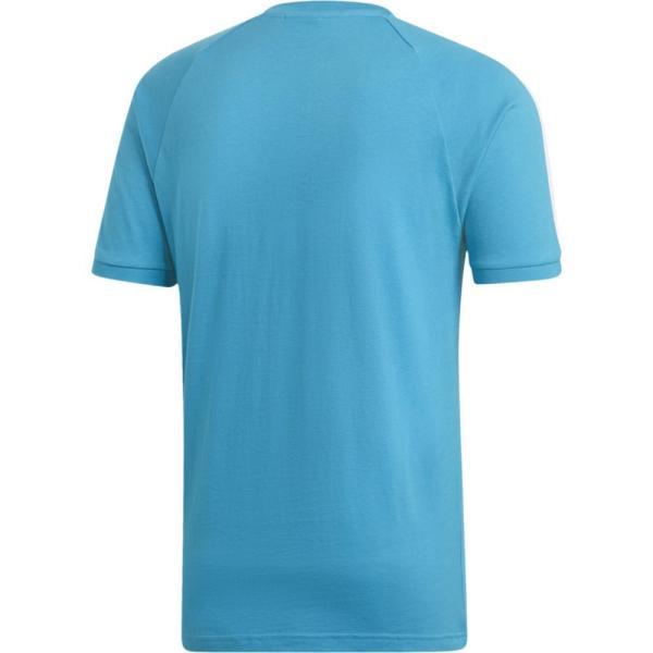 アディダス adidas Originals メンズ Tシャツ トップス California T-Shirt Shock Cyan/White fermart 02
