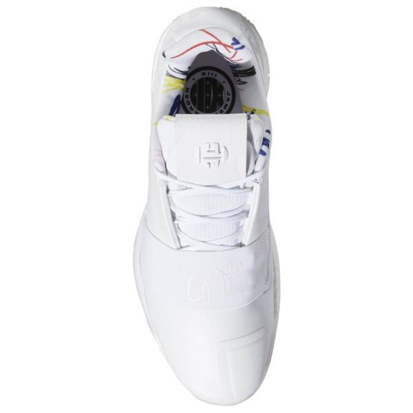 アディダス adidas メンズ バスケットボール シューズ・靴 harden vol. 3 James Harden White/Black|fermart|04
