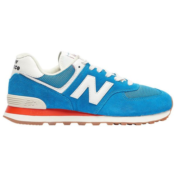 ニューバランス New Balance メンズ ランニング・ウォーキング シューズ・靴 574 Classic Natural Indigo/Light Rouge Wave/White