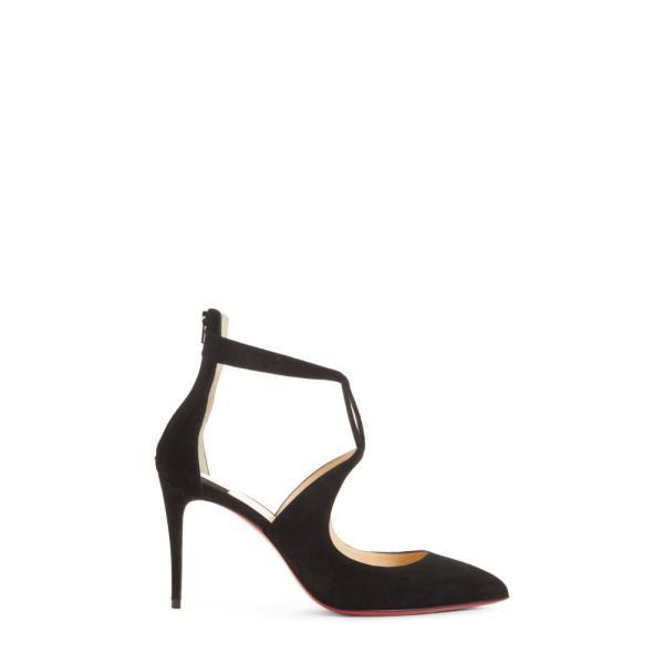 【残り1点!】【サイズ:8US/38EU】クリスチャン ルブタン CHRISTIAN LOUBOUTIN レディース シューズ・靴 パンプス Rosas Ankle Strap Pump Black
