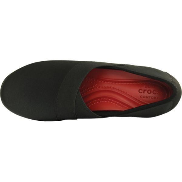 【残り1点!】【サイズ:8-M 】クロックス Crocs レディース シューズ・靴 スリッポン・フラット Busy Day Stretch Asymmetrical Wedge