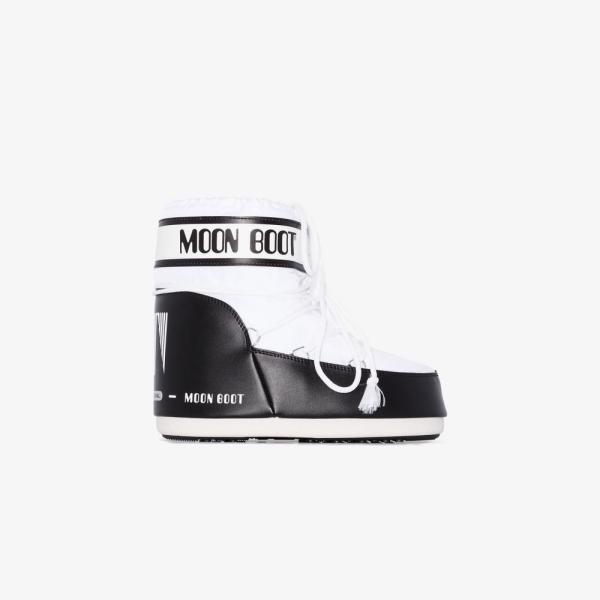 ムーンブーツ Moon Boot レディース ブーツ スノーブーツ シューズ・靴 white classic low snow boots white