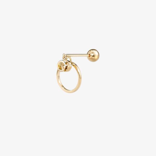グッチ Gucci レディース イヤリング・ピアス ドロップピアス ジュエリー・アクセサリー 18K yellow gold Running drop earring gold