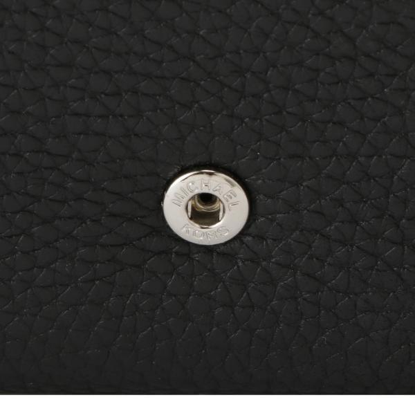 【即納】マイケル コース Michael Kors レディース 財布 FULTON FLAP CONTINENTAL BLACK 長財布 ロングウォレット フラップ ロゴ fermart 04