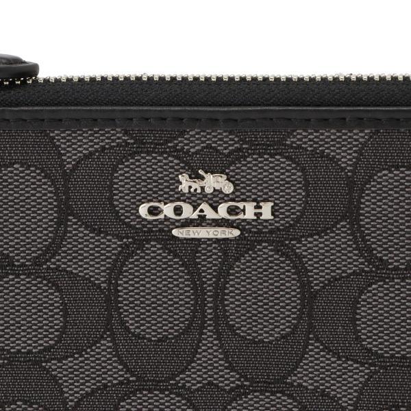 【即納】コーチ Coach レディース 財布 F73527 L-ZIP WALLET SVDK6 長財布 ロングウォレット Lジップ シグニチャー シグネチャー ジャカード fermart 07