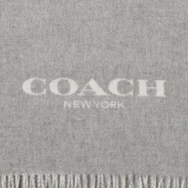 【即納】コーチ Coach レディース マフラー SCARF LF7 カシミヤ混 カシミア混 フリンジ ダブルフェイス F56209|fermart|03