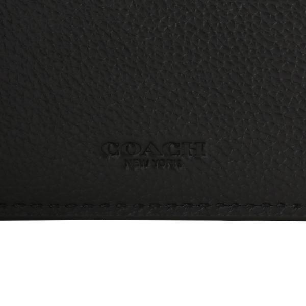 【即納】コーチ Coach メンズ 財布 Leather Wallet QBBK 2つ折り財布 二つ折り財布 ビルフォールド|fermart|07
