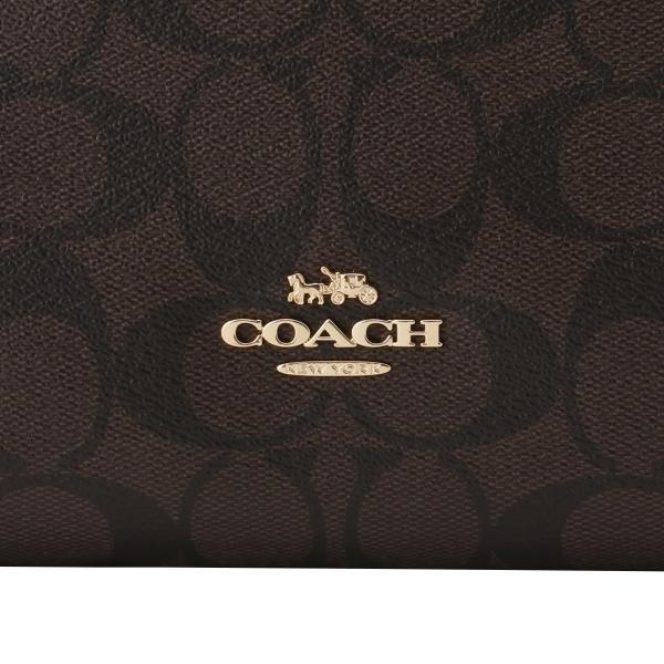 【即納】コーチ Coach レディース ショルダーバッグ バッグ Mia Crossbody IMAA8 ミア クロスボディ バイカラー シグニチャー シグネチャー|fermart|06