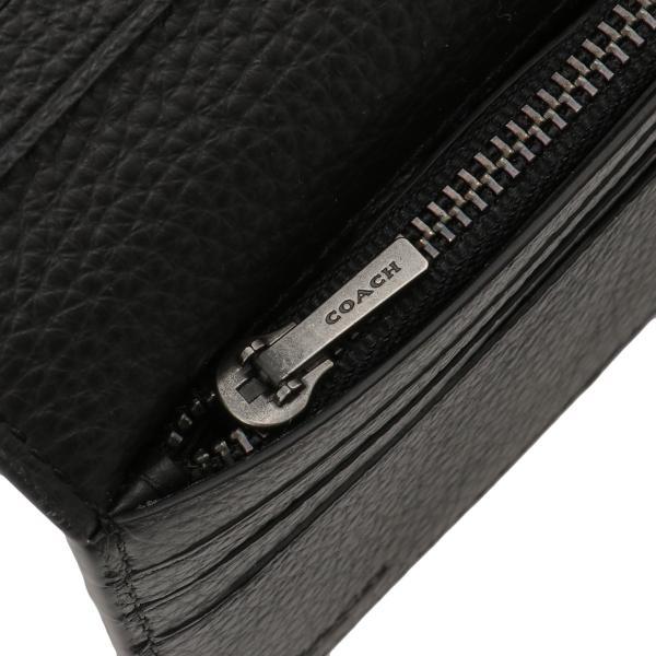 【即納】コーチ Coach メンズ 財布 Breast Pocket Wallet QBBK 長財布 2つ折り財布 二つ折り財布 fermart 05