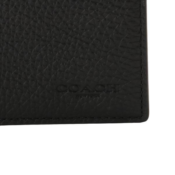 【即納】コーチ Coach メンズ 財布 Breast Pocket Wallet QBBK 長財布 2つ折り財布 二つ折り財布 fermart 06