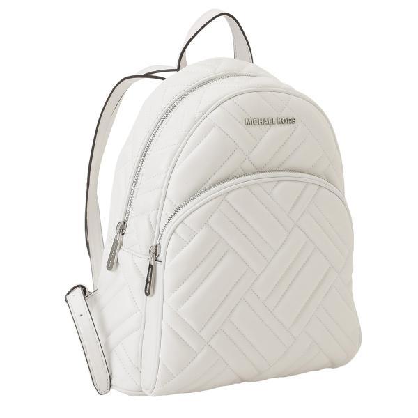 【即納】マイケル コース Michael Kors レディース バックパック・リュック バッグ LEATHER BAG 35s9sayb2t OPTIC WHITE ロゴ キルティング fermart