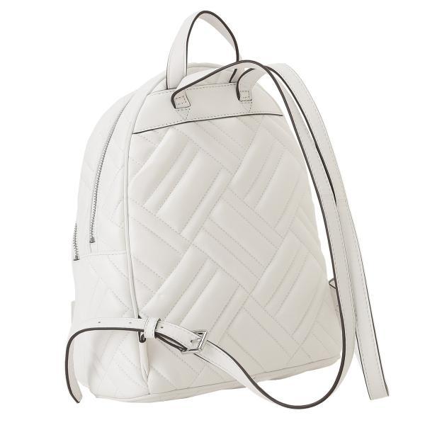 【即納】マイケル コース Michael Kors レディース バックパック・リュック バッグ LEATHER BAG 35s9sayb2t OPTIC WHITE ロゴ キルティング fermart 02
