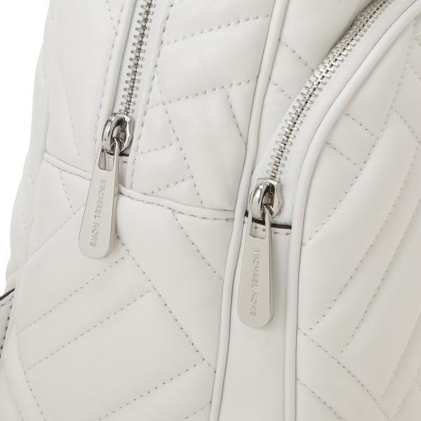 【即納】マイケル コース Michael Kors レディース バックパック・リュック バッグ LEATHER BAG 35s9sayb2t OPTIC WHITE ロゴ キルティング fermart 07