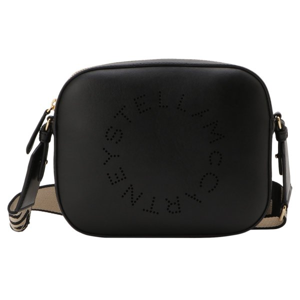 【即納】ステラ マッカートニー Stella McCartney レディース ショルダーバッグ バッグ Mini Camera Bag 700072 BLACK カメラバッグ ロゴ クロスボディ|fermart