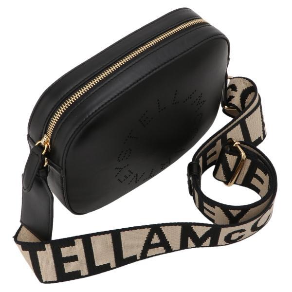 【即納】ステラ マッカートニー Stella McCartney レディース ショルダーバッグ バッグ Mini Camera Bag 700072 BLACK カメラバッグ ロゴ クロスボディ|fermart|06