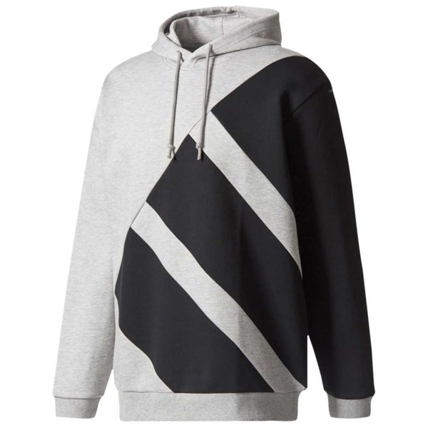 【即納】アディダス adidas Originals メンズ パーカー トップス EQT Hoodie Medium Grey Heather/Black|fermart|01