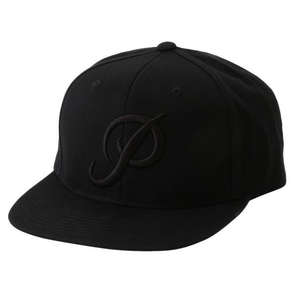 【即納】プリミティブ Primitive ユニセックス キャップ 帽子 CORE CLASSIC P SNAPBACK BLACK ロゴ スナップバック スナップキャップ fermart