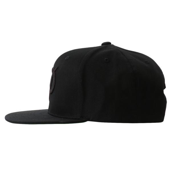 【即納】プリミティブ Primitive ユニセックス キャップ 帽子 CORE CLASSIC P SNAPBACK BLACK ロゴ スナップバック スナップキャップ fermart 03