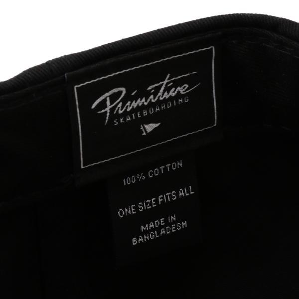【即納】プリミティブ Primitive ユニセックス キャップ 帽子 CORE CLASSIC P SNAPBACK BLACK ロゴ スナップバック スナップキャップ fermart 05