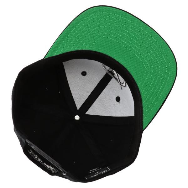 【即納】プリミティブ Primitive ユニセックス キャップ 帽子 CORE CLASSIC P SNAPBACK BLACK ロゴ スナップバック スナップキャップ fermart 06