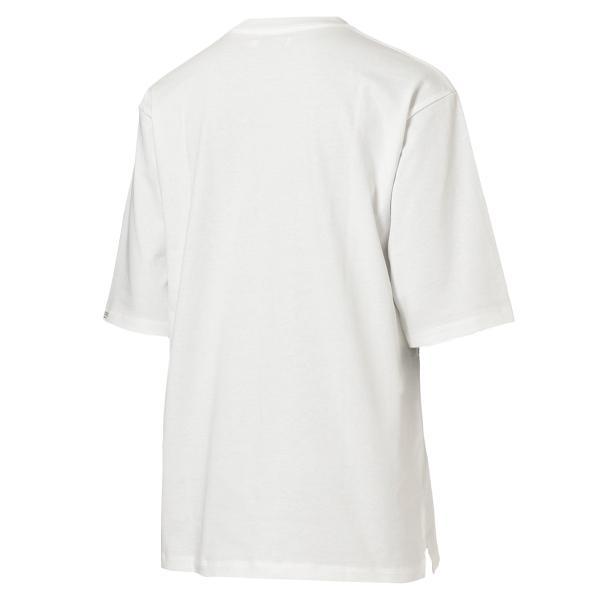 【即納】エンコーデッド ENCODED メンズ 長袖Tシャツ トップス ロンT ロングT ロングスリーブ Oversized half-sleeve T-shirt White fermart 02