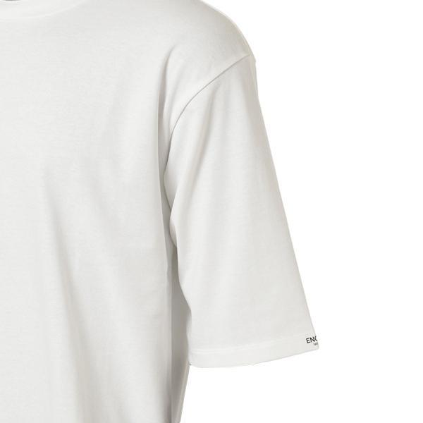 【即納】エンコーデッド ENCODED メンズ 長袖Tシャツ トップス ロンT ロングT ロングスリーブ Oversized half-sleeve T-shirt White fermart 03