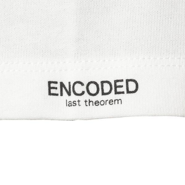 【即納】エンコーデッド ENCODED メンズ 長袖Tシャツ トップス ロンT ロングT ロングスリーブ Oversized half-sleeve T-shirt White fermart 06