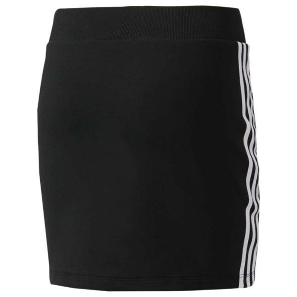 【即納】アディダス adidas Originals レディース スカート 3-Stripes Skirt Black/White|fermart|02