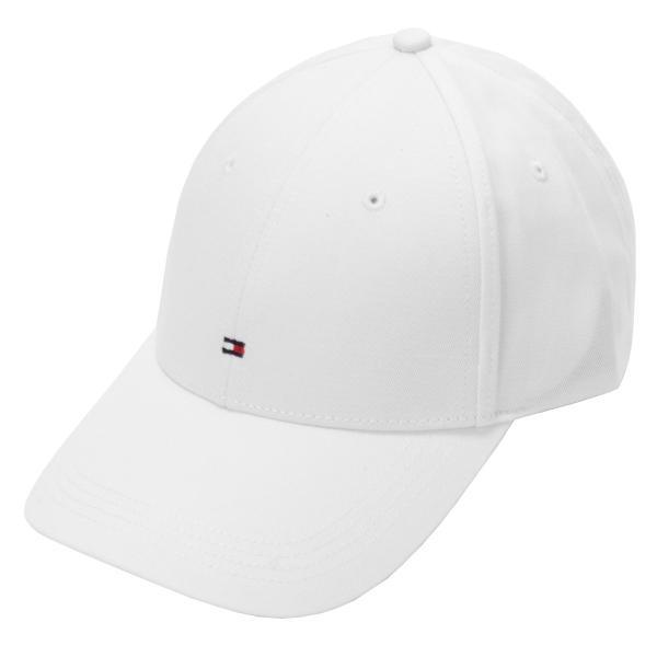 【即納】トミー ヒルフィガー Tommy Hilfiger メンズ キャップ 帽子 Classic Flag Baseball Cap in White White White|fermart