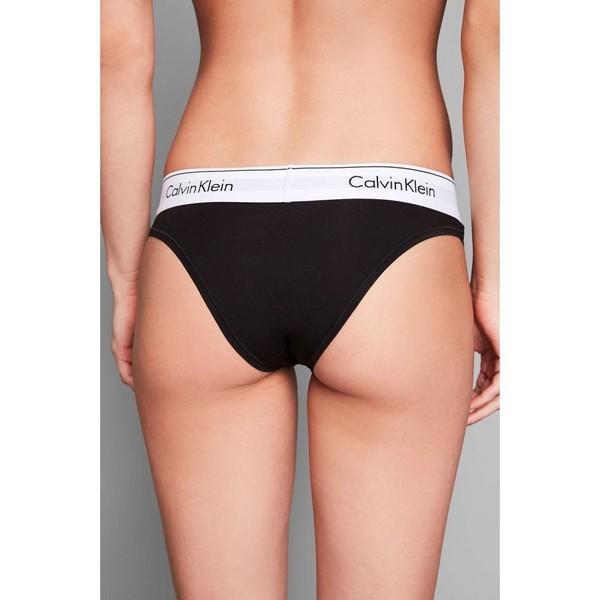 【即納】カルバンクライン Calvin Klein レディース ショーツのみ インナー・下着 Calvin Klein Modern Cotton Tanga BLACK BLACK|fermart|05