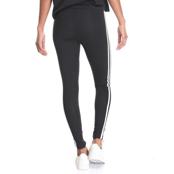 【即納】アディダス レディース スパッツ・レギンス インナー・下着 3-stripes leggings Black|fermart|02