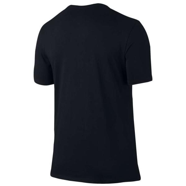 【即納】ナイキ ジョーダン Jordan メンズ Tシャツ トップス Stretch T-Shirt Black/Gym Red|fermart|02