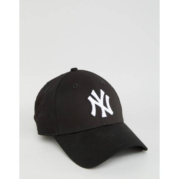 【即納】ニューエラ New Era レディース キャップ 帽子 Black NY 9Forty Cap Black|fermart|02