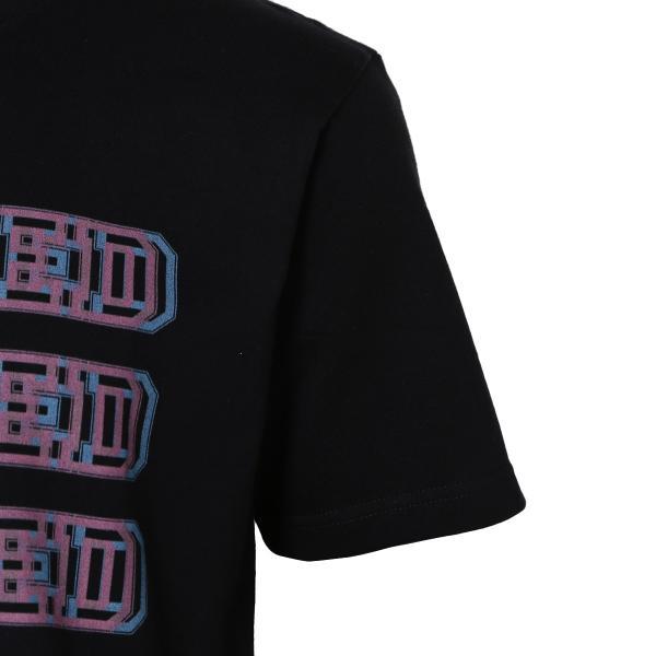 【即納】エンコーデッド T. x ENCODED メンズ Tシャツ トップス FAKE 3D TEE black|fermart|05