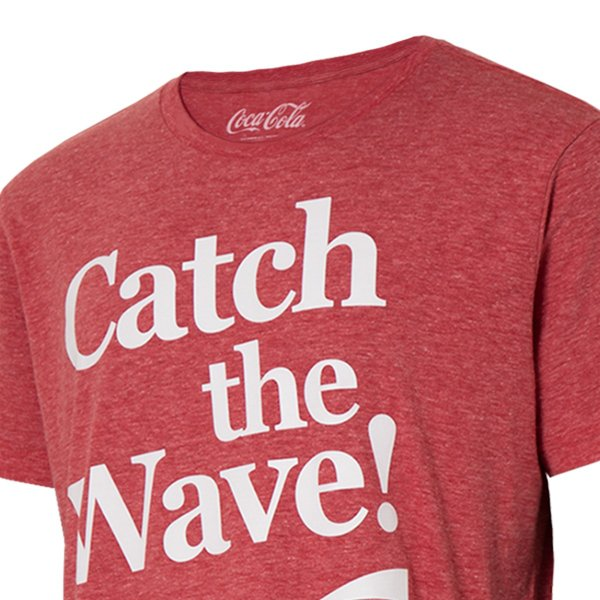 【即納】アメリカンイーグル American Eagle メンズ Tシャツ トップス AE GRAPHIC T-SHIRT Catch the Wave coke Red Beam|fermart|04